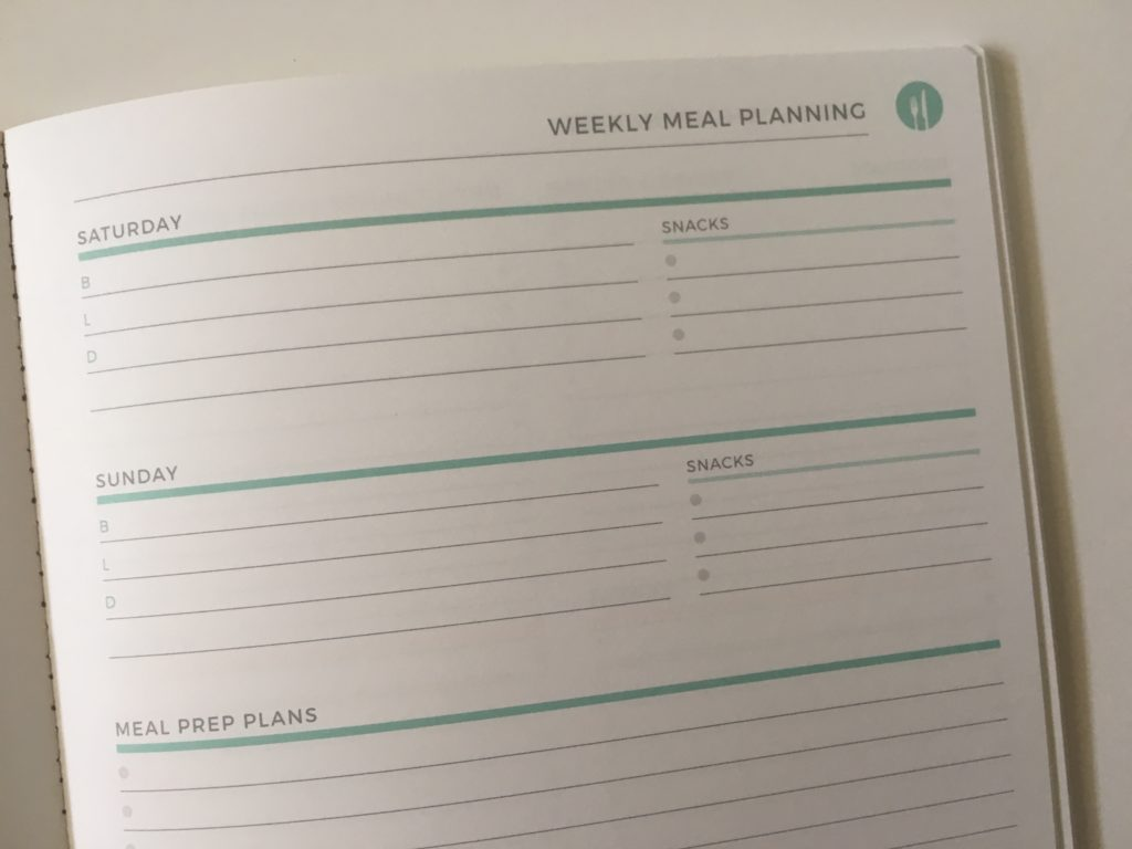 plum paper meal planning notebook undated pros and cons review video saturday sunday