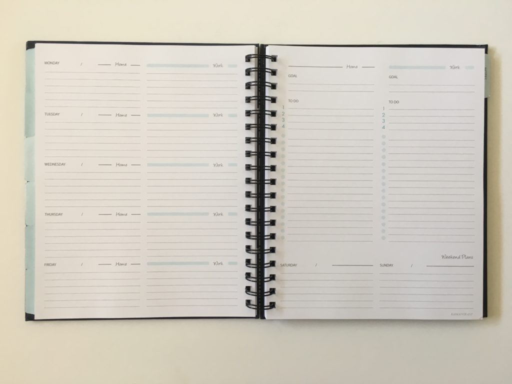 review of the its that kinda day planner