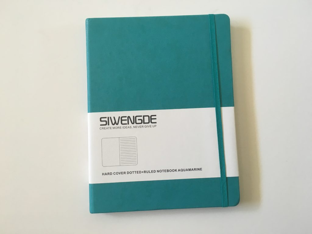 siwengde notebook bullet journal pros and cons pen testing paper quality bleed through cheaper alternative to leuchtturm bujo