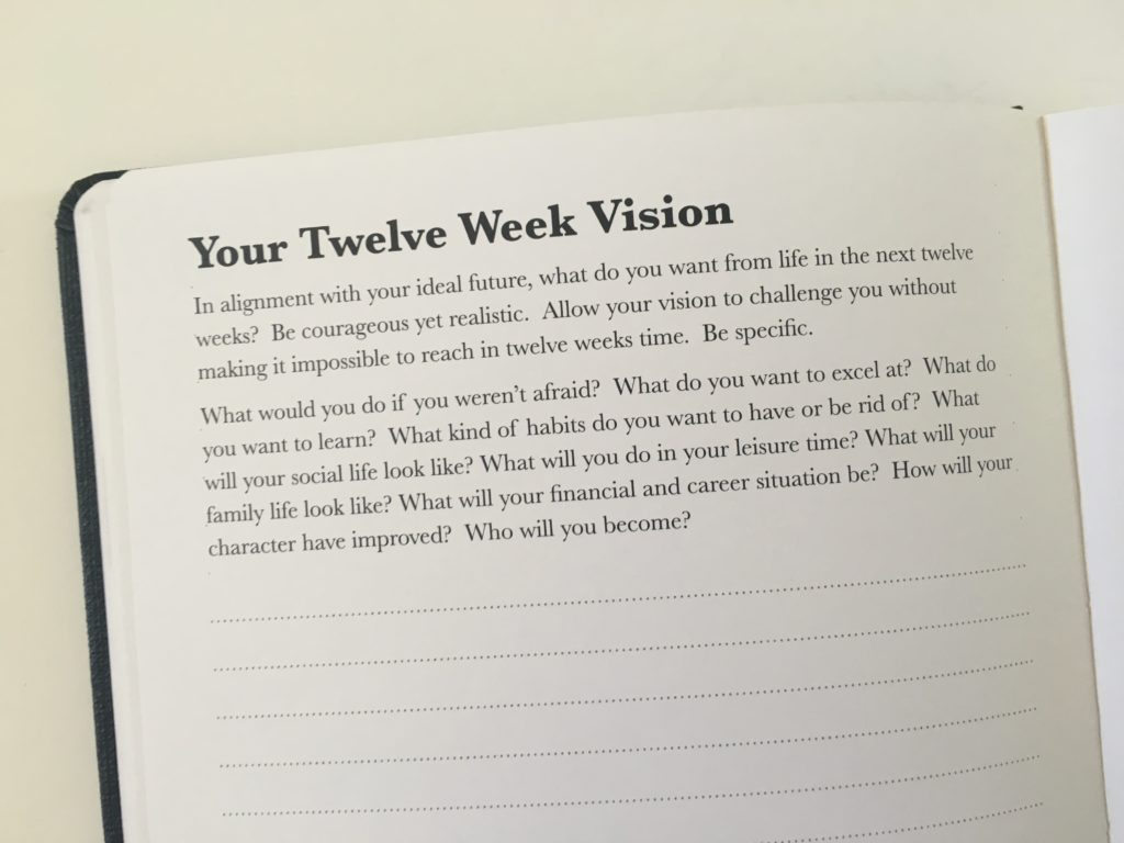 the phoenix journal planner review daily 2 pages weekly monthly undated 12 week goal planner vision
