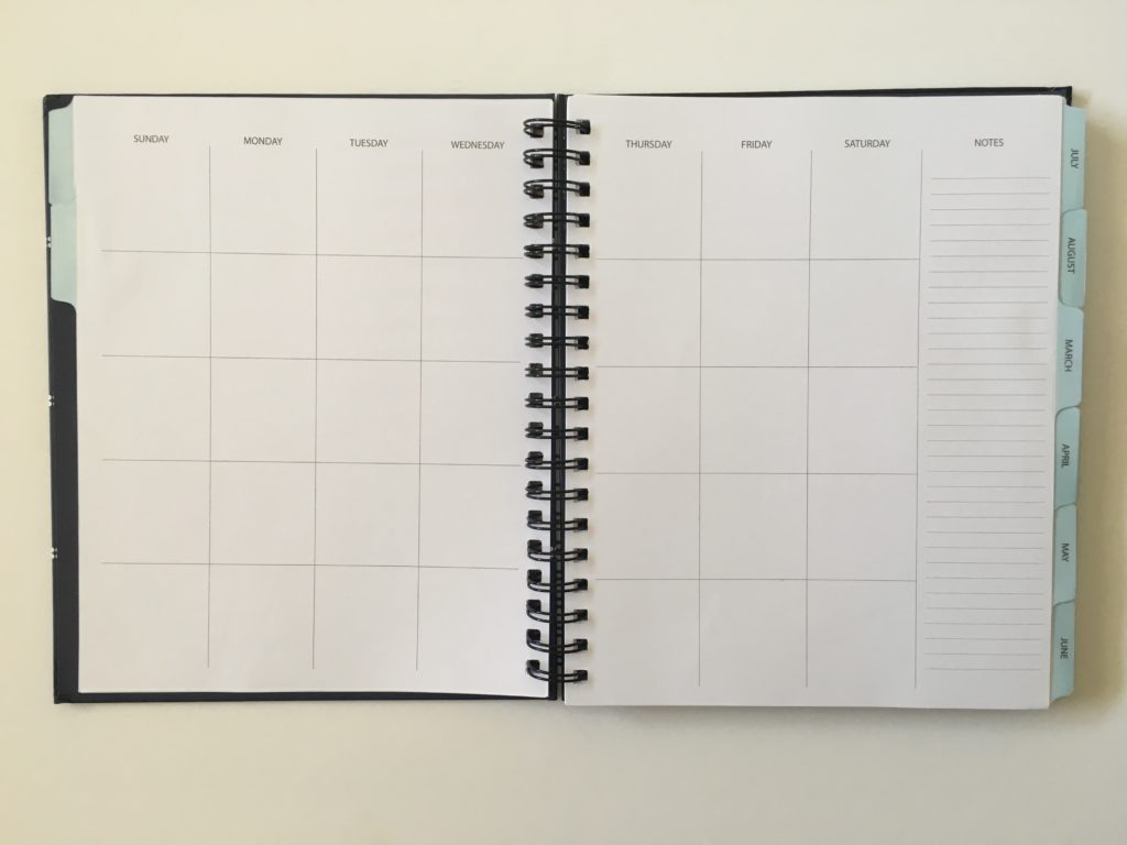 undated planner its that kinda day kahootie weekly on 2 pages horizontal sunday start pros and cons video review