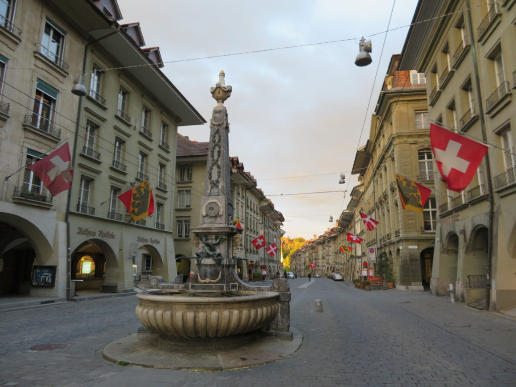 Berne switzerland Kramgasse street UNSECO things to see and do in 1 day