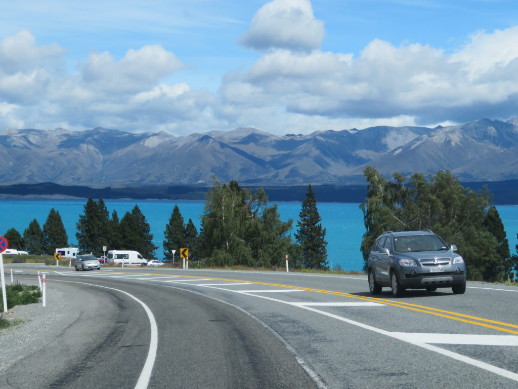 Lake Pukaki new zealand south island road trip itinerary 7 days 10 days