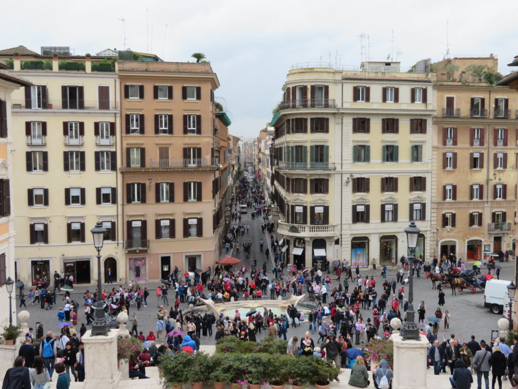 rome spanish steps viewpoint must see and do itinerary first time guide