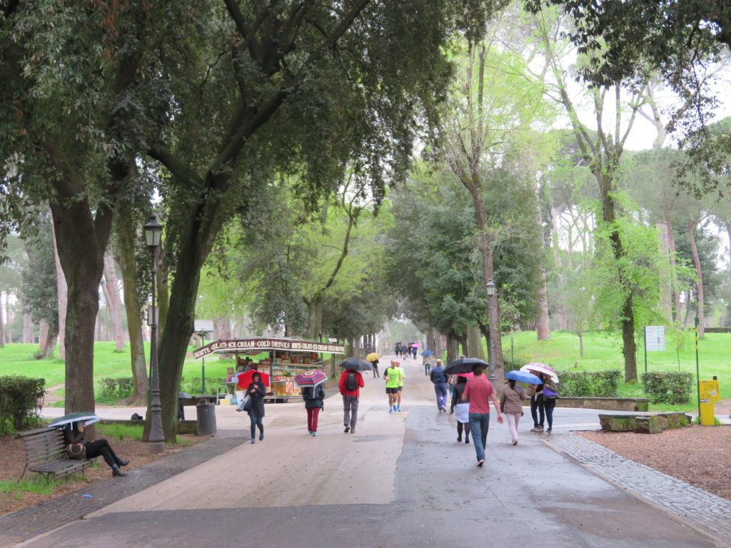 Villa Borghese park rome italy things to see and do spring