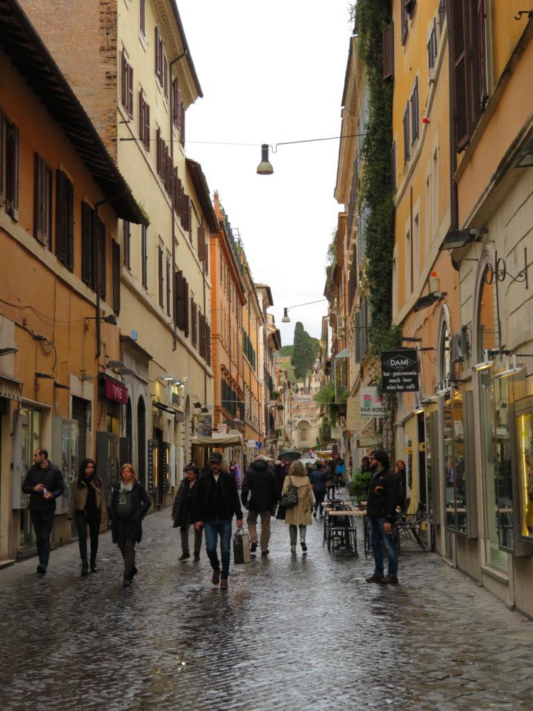 Corso Vittorio Emanuele II rome italy