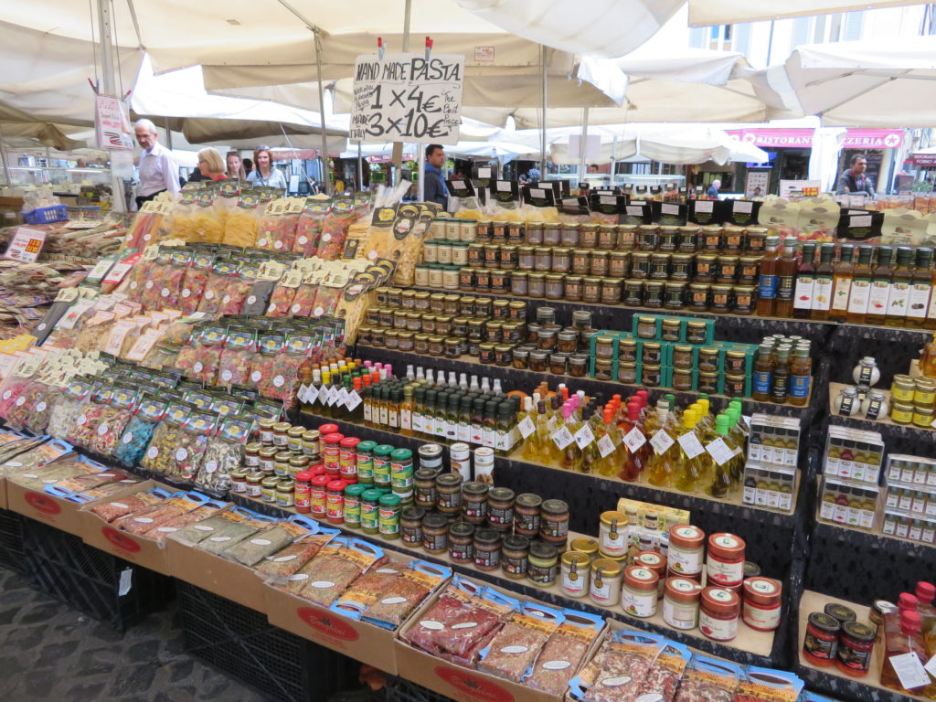 rome italy food market spices fruit vegetables flowers first time visit things to see and do