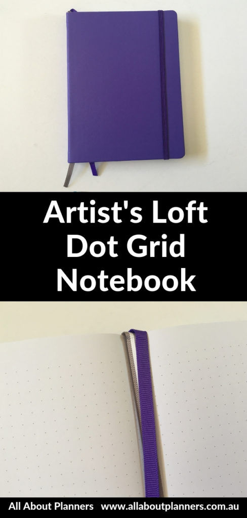 artists loft bullet journal notebook dot grid sewn bound bright white paper pros and cons review