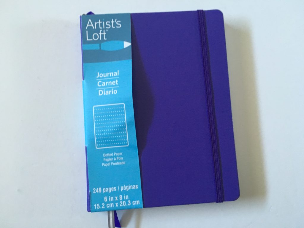 artists loft bullet journal notebook pros and cons sewn bound bright white paper