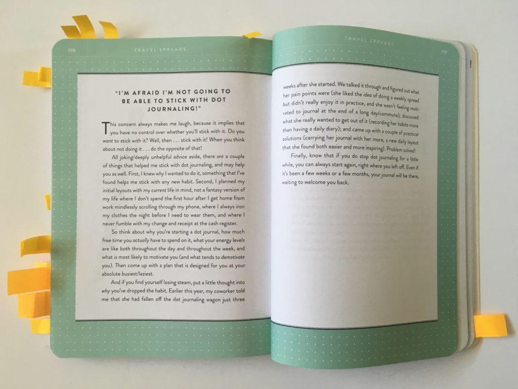 bullet journal book dot journaling rachel wilkerson miller