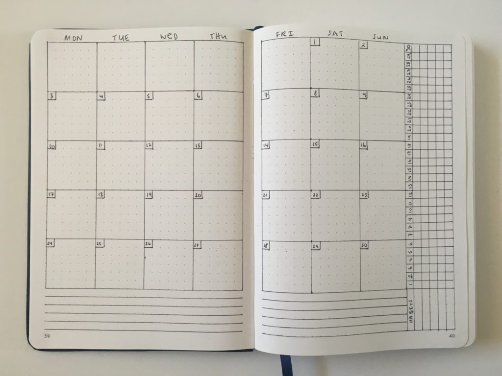 bullet journal monthly calendar planning tips inspiration ideas minimalist quick easy