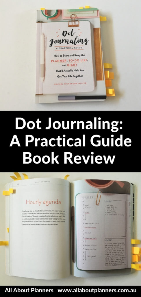 dot journaling a practical guide book review pros and cons daily spread weekly monthly habit to do list inspiration inspo ideas