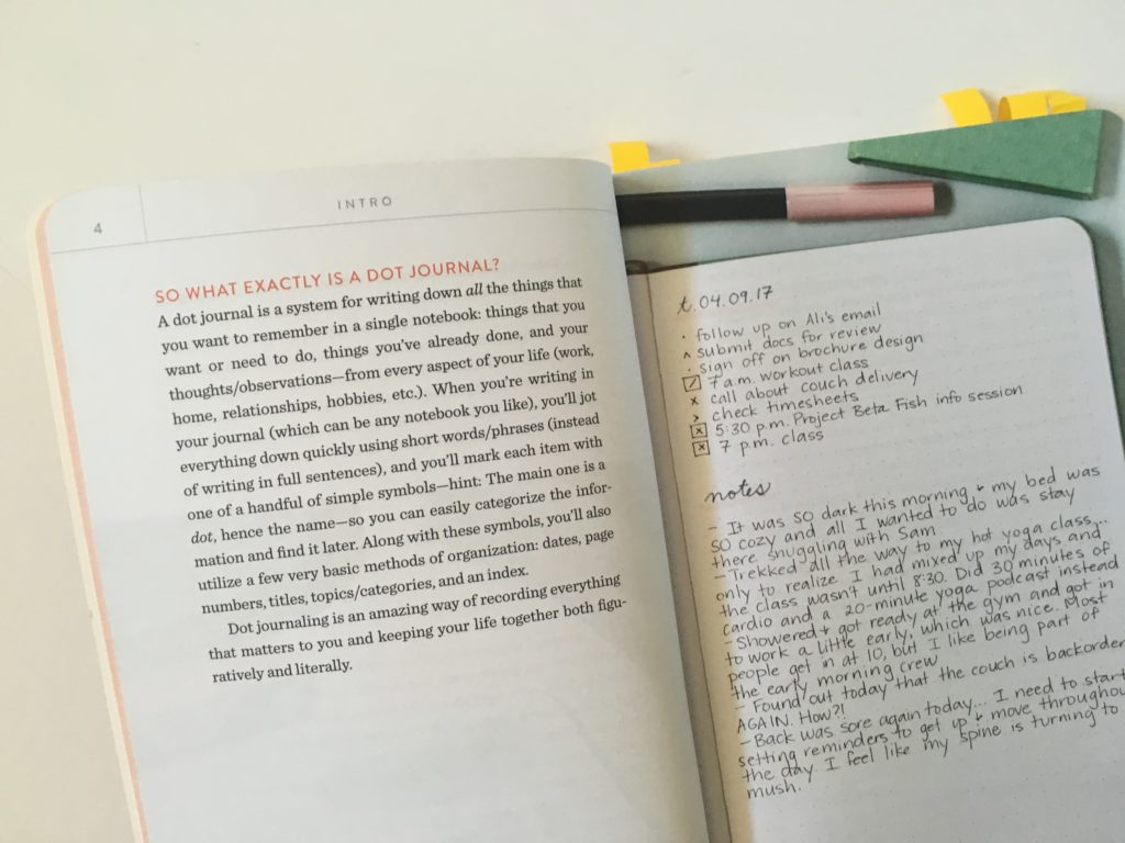 guide to dot journaling book review
