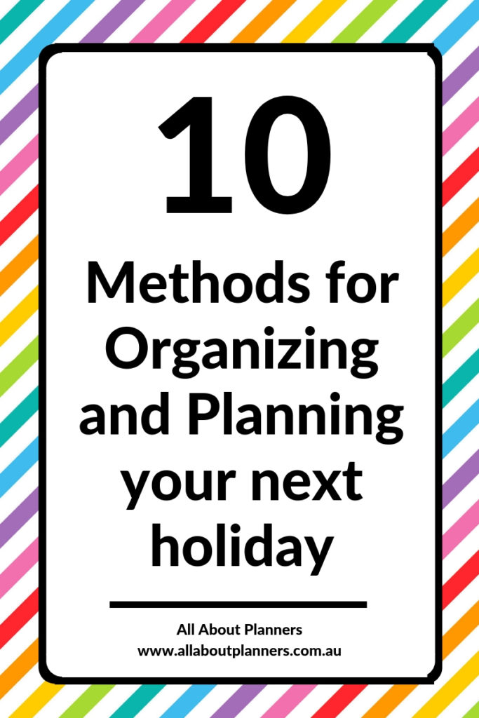 how to organize and plan your next vacation holiday trip planning travel apps tips excel word visit a city tool review