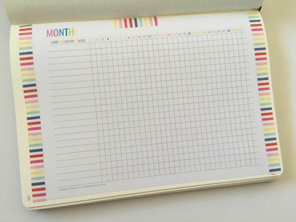 My Bullet Journal Planer 3