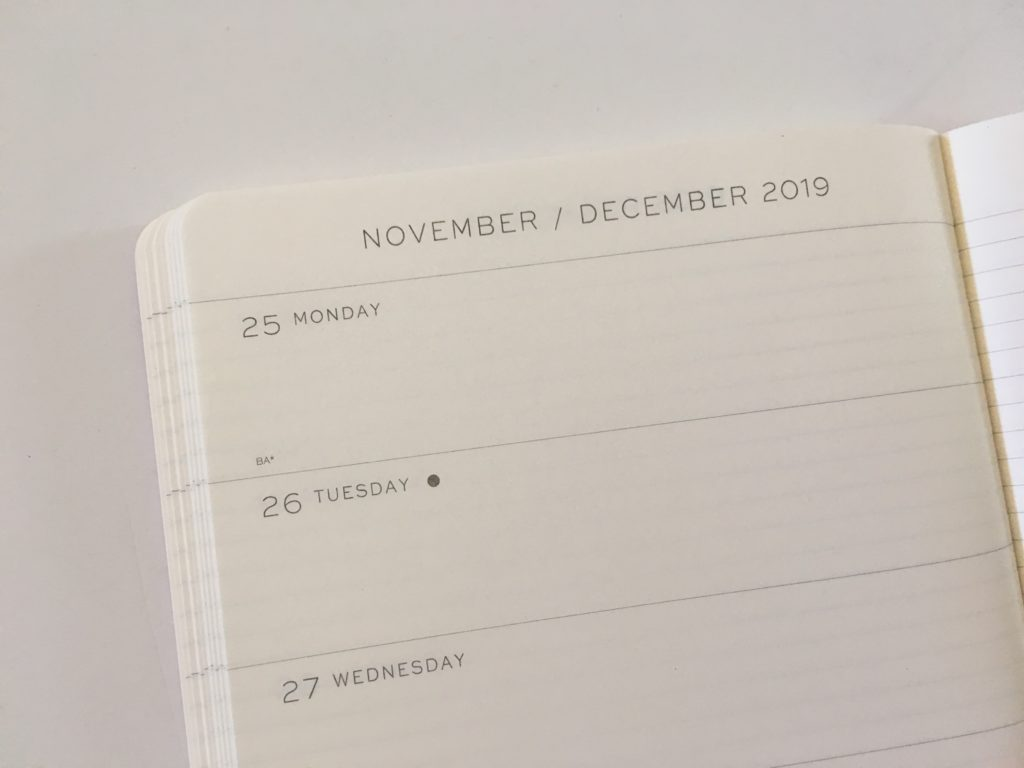 leuchtturm horizontal weekly planner review pros and cons monday start video review