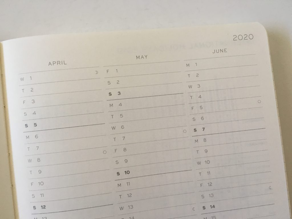 leuchtturm planner review weekly horizontal monday start pros and cons video review project planner annual overview future log annual planning