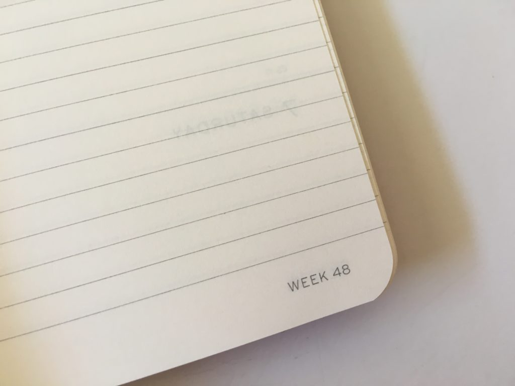 leuchtturm planner review weekly horizontal monday start pros and cons video review week number no tabs