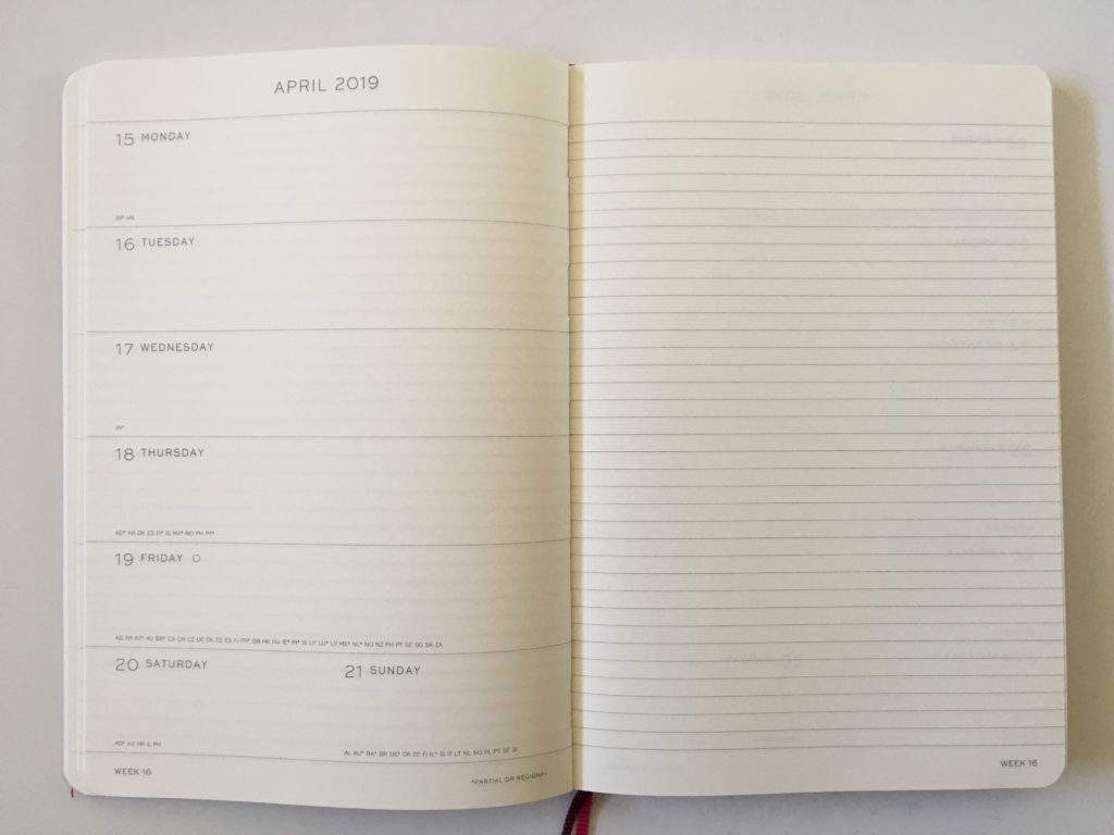 leuchtturm weekly planner review 1917 pros and cons video flipthrough review minimalist monday start