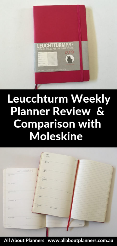 leuchtturm weekly planner review pros and cons pen test comparison with moleskine monday start horizontal unlined notes compact