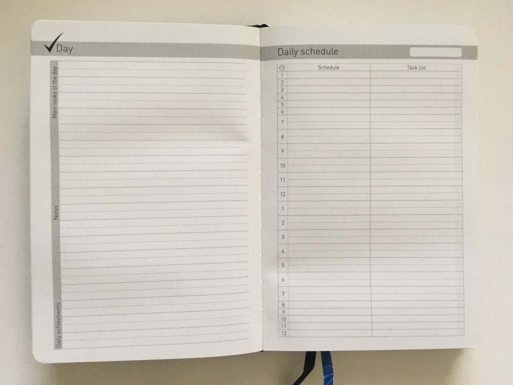 lion planner review daily minimalist goal setting 24hr schedule simple undated