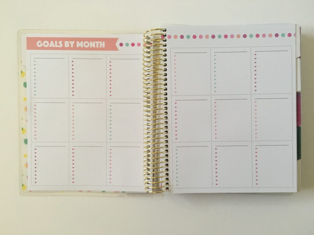 michaels recollections creative year weekly planner 1 page goal setting productivity pros and cons undated