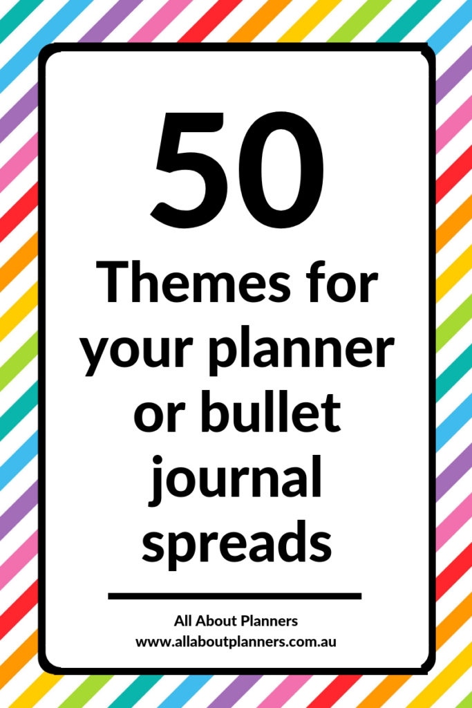 planner themes spread ideas inspiration layout bullet journal weekly planner tips diy organize decorating simple quick easy
