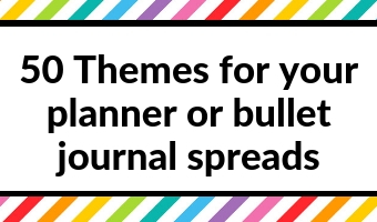 planner themes spread ideas inspiration layout bullet journal weekly planner tips diy organize decorating simple quick