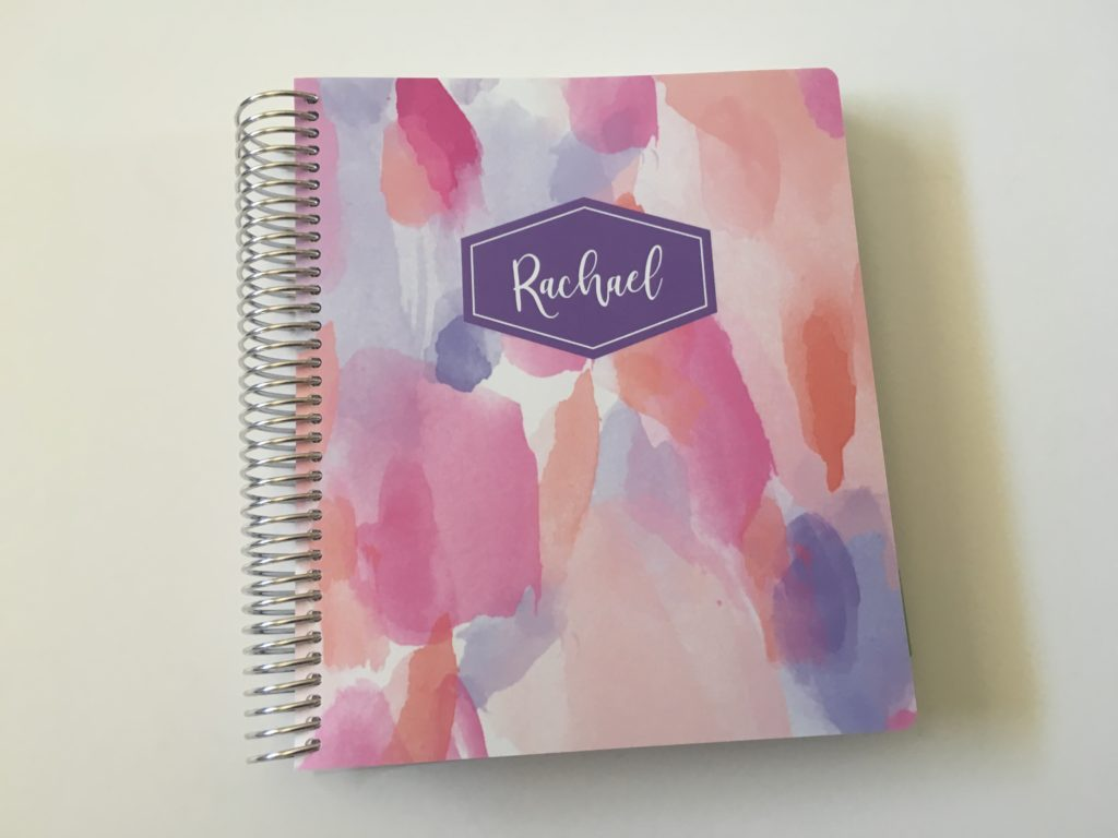 plum paper custom personalised planner colorful horizontal haul video review pros and cons