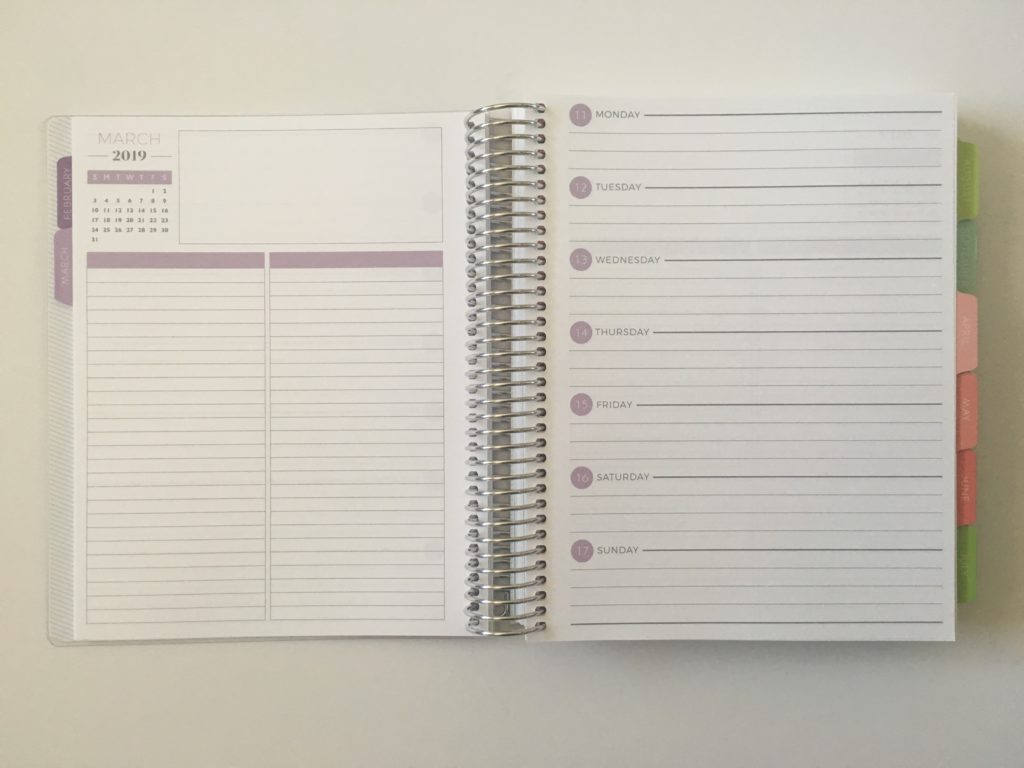 plum paper horizontal lined notes plus checklist review pros and cons video flipthrough medium
