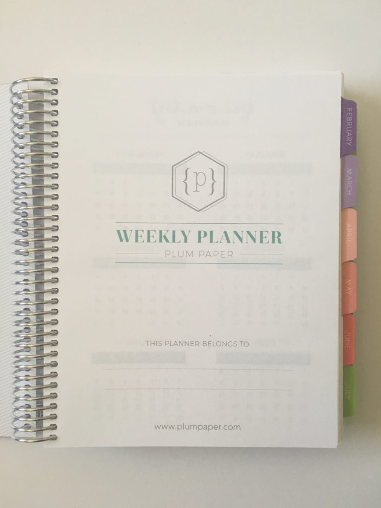 plum paper planner review video