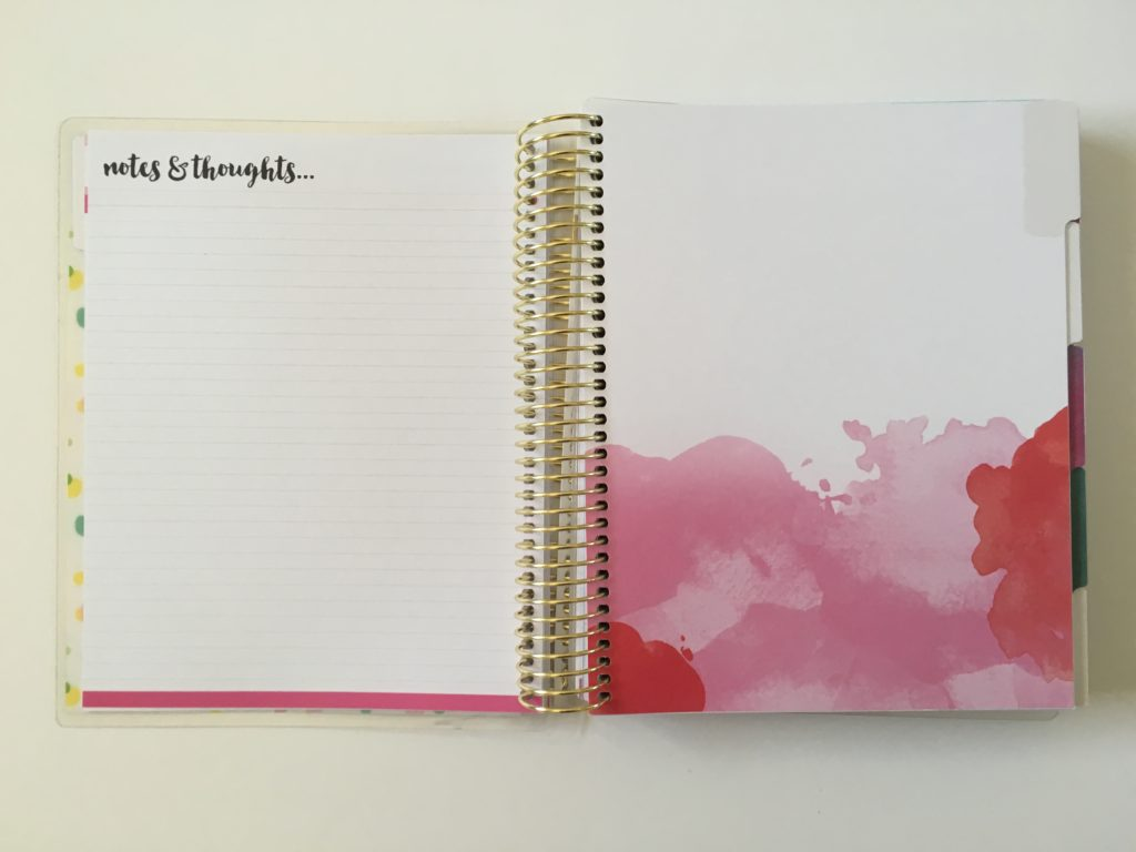 recollections goals planner review cheaper alternative to erin condren undated start any time project planner