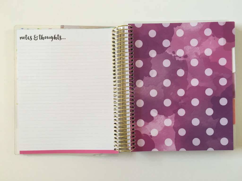 recollections goals planner review notes pages similar alternative to erin condren cute decorative michaels divider