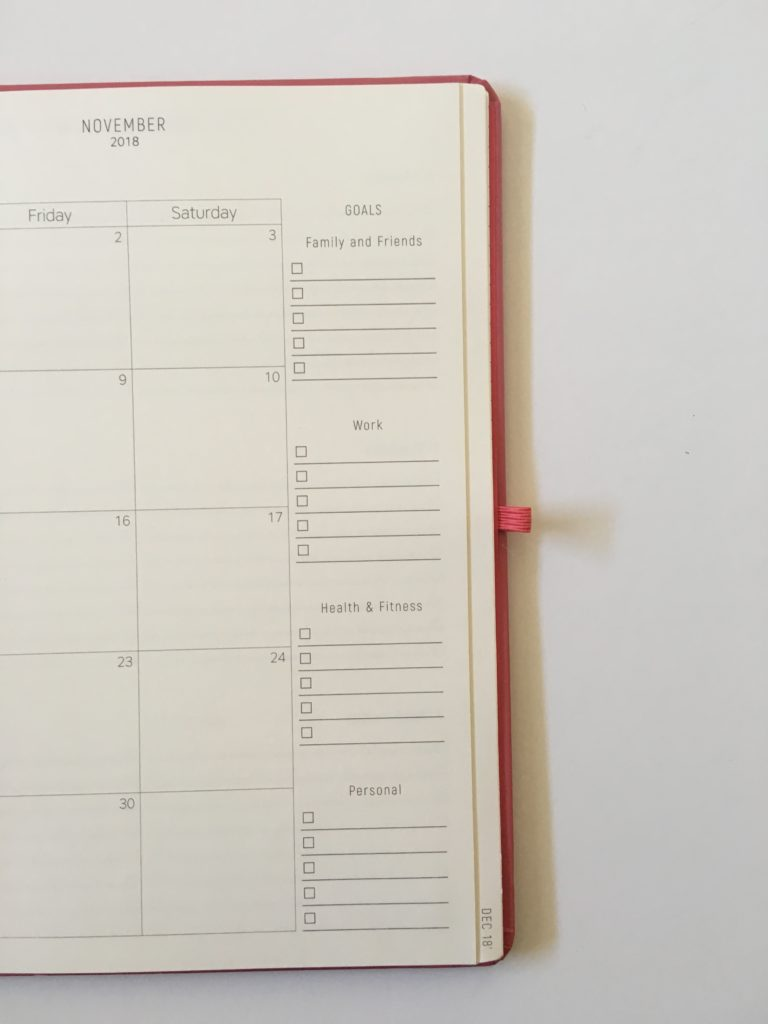 santa barbara specialties monthly calendar review 2 page spread checklist pros and cons
