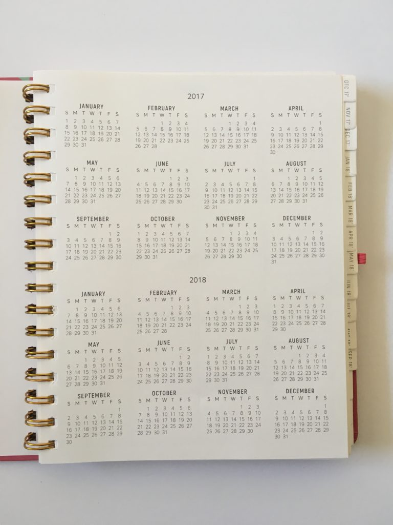 santa barbara specialties planner review dates at a glance annual
