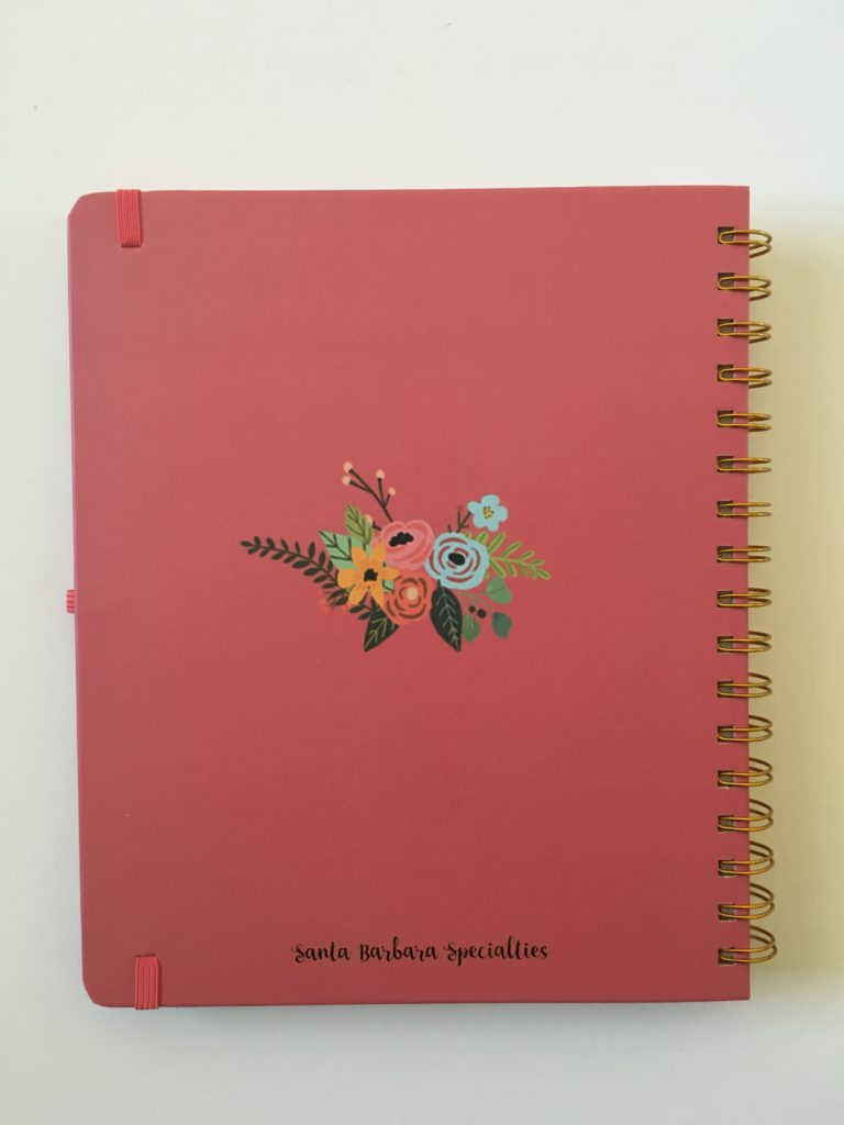 santa barbara specialties planner review hardcover