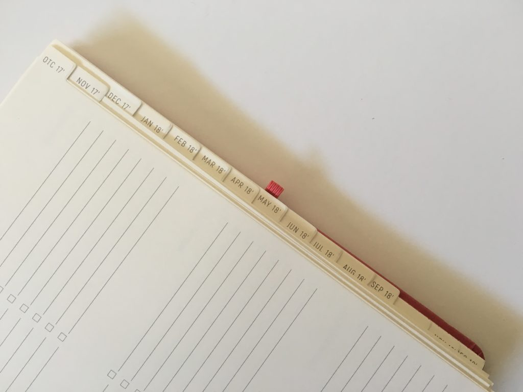 santa barbara specialties planner review tabs