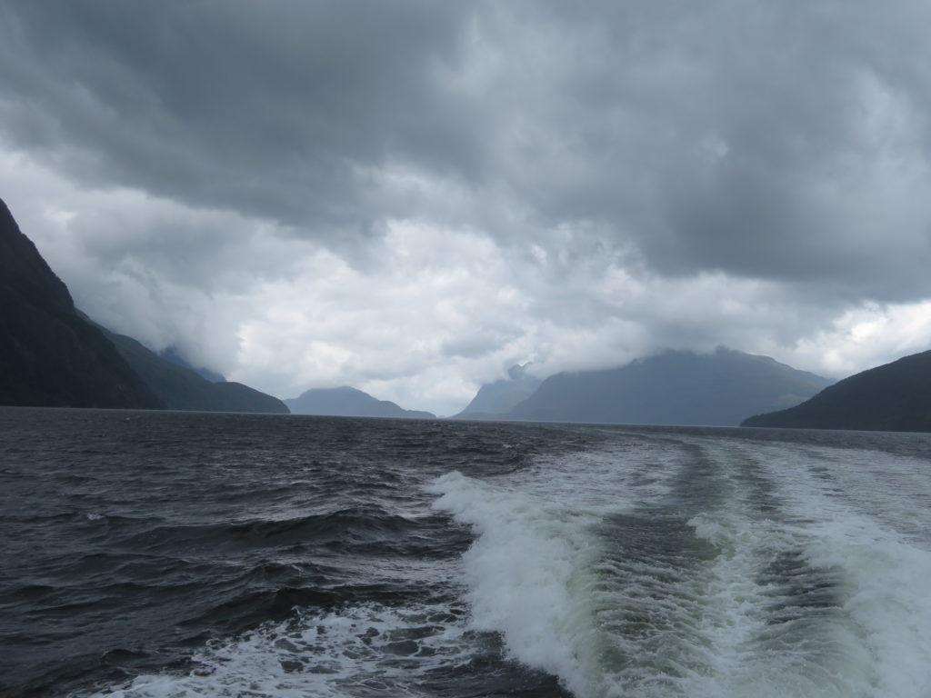 Day trip to Doubtful Sound Fjord, New Zealand's South Island