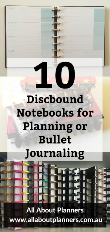 discbound notebooks for planning or bullet journal comparison reviews pros and cons dot grid weekly spreads mambi levenger arc tul favorites recommended