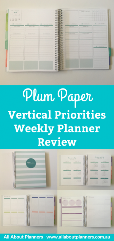 plum paper vertical priorities weekly spread review pros and cons video pen testing best planners for student combined weekend colorful