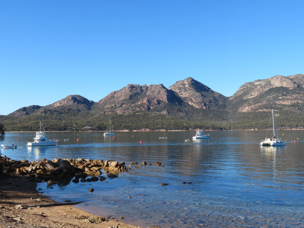 Coles Bay Freycinet national park tasmania how to get there things to see and do