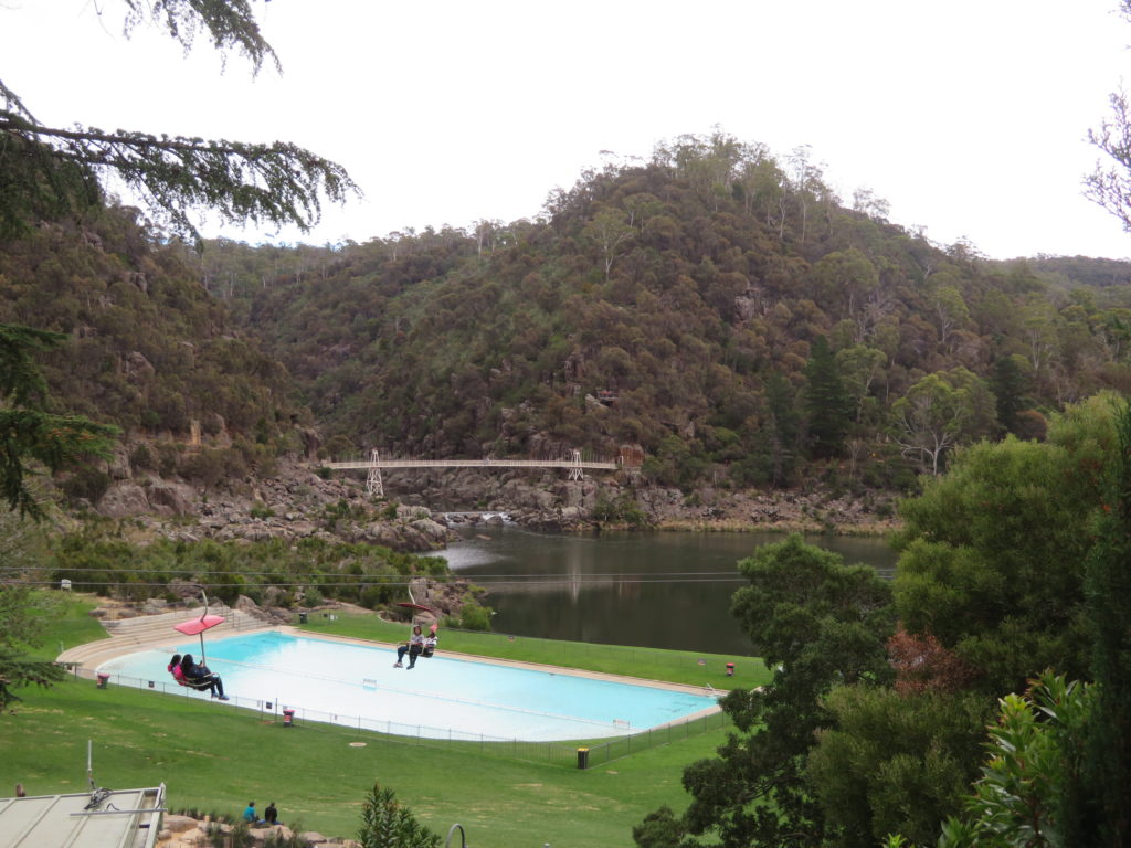 Cataract Gorge Launceston tasmania australia things to see and do 10 day road trip itinerary