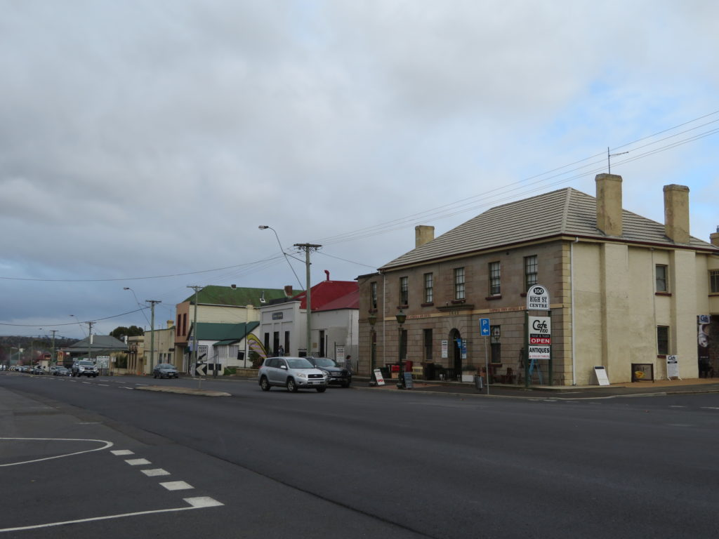 campbell town tasmania main street