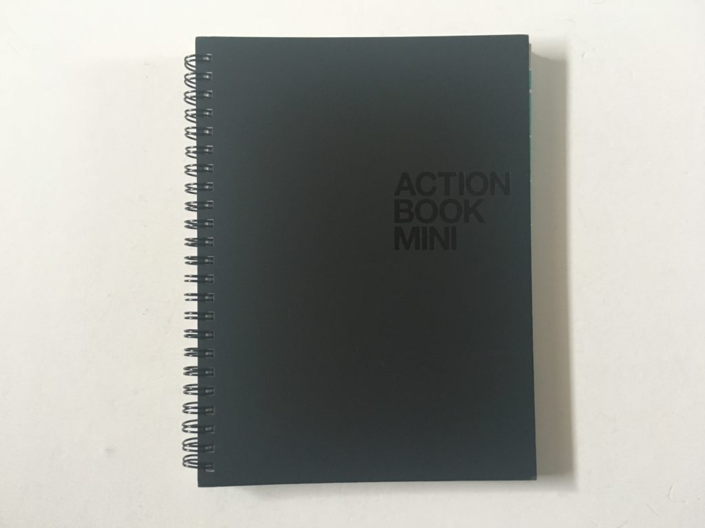 action plan book dot grid project planner a5 simple minimalist checklist steps gender neutral