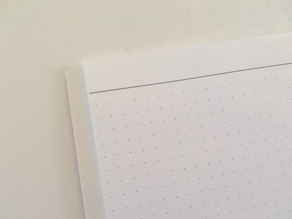 agendio dot grid notebook custom personalised review neutral colors