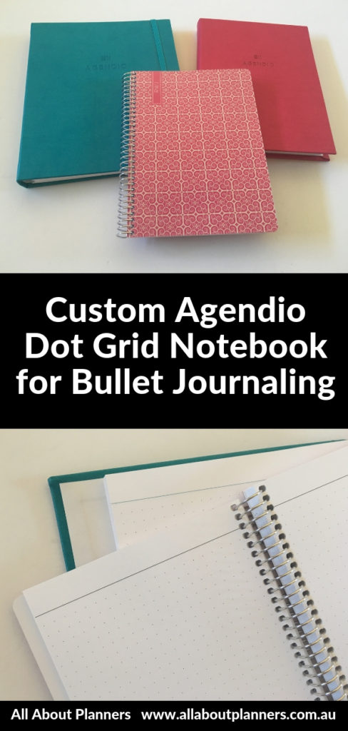 agendio dot grid notebook for bullet journaling custom review pros and cons video pen test paper quality