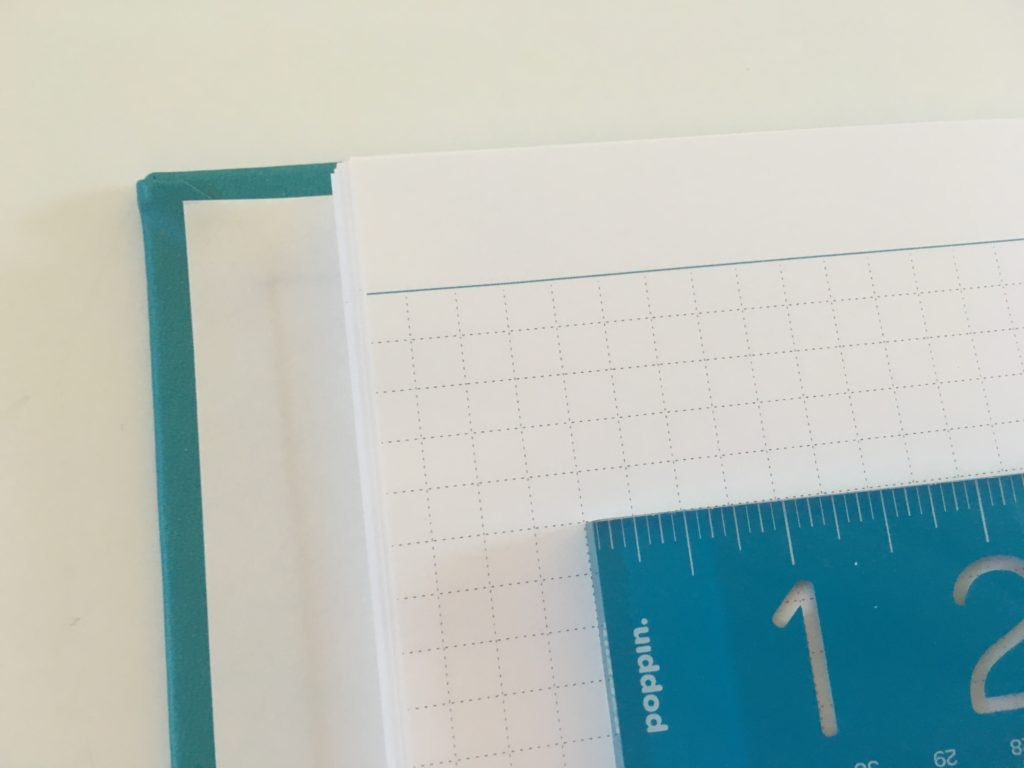 agendio graph paper square grid custom personalised notebook review