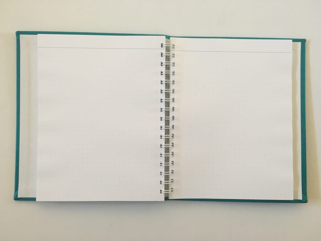 agendio medium notebook review dot grid bullet journal bujo