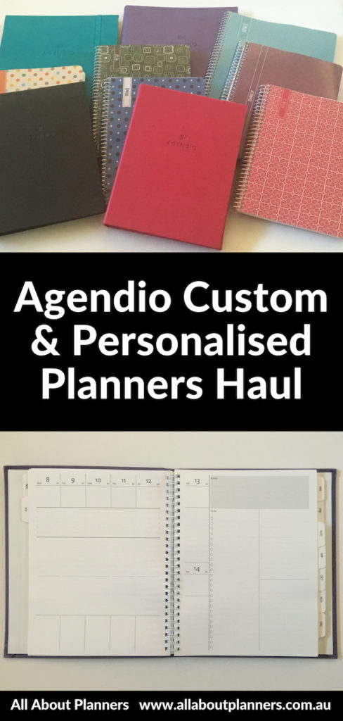 agendio planner haul custom personalised pros and cons weekly vertical horizontal monthly daily minimalist colorful diy planner