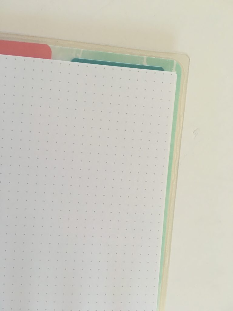 bullet journal notebook last time i did tracker simple minimalist mambi happy planner dot journal review pros and cons dot grid